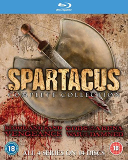 Spartacus: The Complete Collection [Blu-ray]