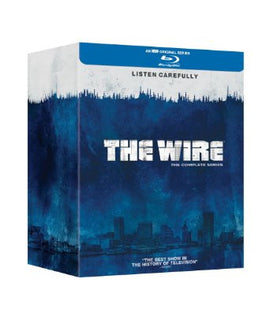 The Wire - Complete Season 1-5 [Blu-ray] [Region Free]