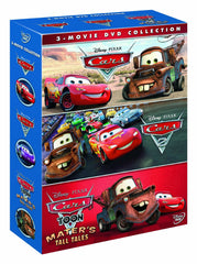 Cars, Cars 2 & Cars Toon: Mater's Tall Tales Box Set [DVD]