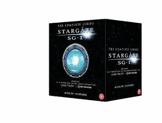 Stargate SG-1 - Complete Season 1-10 plus The Ark of Truth / Continuum [DVD]