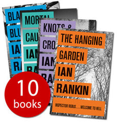 Ian Rankin 10 Books Collection