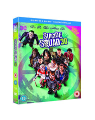 Suicide Squad [Blu-ray 3D] [2016] [Region Free]