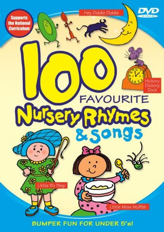 100 Favourite Nursery Rhymes and Songs [DVD]