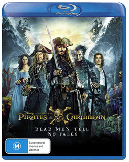 Pirates of the Caribbean: Dead Men Tell No Tales (Blu Ray - Region B - AUS)