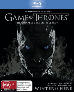 Game of Thrones Season 7 Complete (Blu Ray - Region B - AUS)