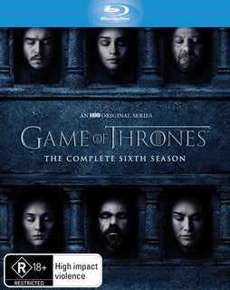 Game of Thrones: Season 6 (Blu Ray - Region B - AUS)