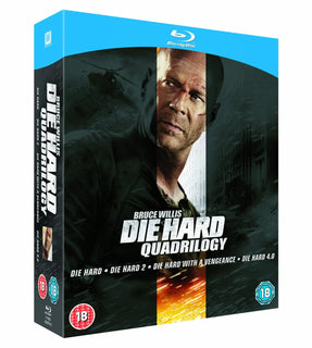 Die Hard Quadrilogy [Blu-ray]