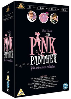 The Pink Panther Film And Cartoon Collection [DVD]