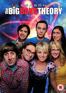 The Big Bang Theory - Season 1-8 [DVD] [2015]