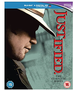Justified: The Complete Series Blu-Ray [Region Free]