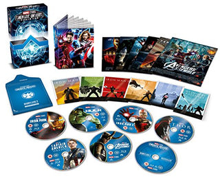 Marvel Studios Collector's Edition Box Set - Phase 1 [Blu-ray] [Region Free]