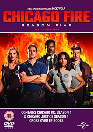 Chicago Fire: Season Five [DVD]