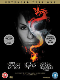 The Girl with the Dragon Tattoo / Played with Fire (Extended Versions) [DVD]