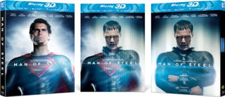 Man of Steel [Blu-ray 3D + Blu-ray] [2013] [Region Free]