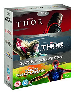 Thor 1-3 Box Set [Blu-ray] [2017] [Region Free]