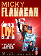 Micky Flanagan The Complete Live Collection (2017) [DVD]