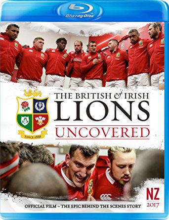 British and Irish Lions 2017: Lions Uncovered [Blu-ray]
