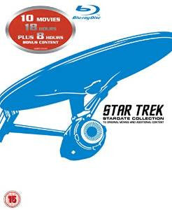 Star Trek: Stardate Collection - The Movies 1-10 [Blu-ray] [Region Free]