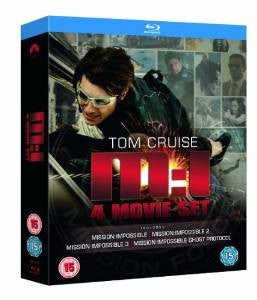Mission Impossible Quadrilogy [Blu-ray] [Region Free]