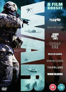 War Collection (Platoon, The Thin Red Line, Behind Enemy Lines, Tigerland, Windtalkers) [DVD]