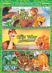 The Land Before Time 1-3 [DVD]