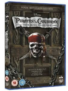 Pirates of the Caribbean 1-4 Box Set [DVD]