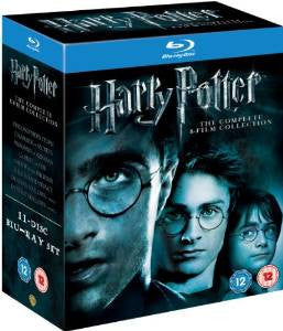 Harry Potter - Complete 8-Film Collection [Blu-ray] [Region Free]