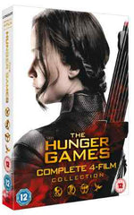 The Hunger Games - Complete Collection [DVD] [2015]