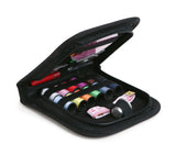 Best Mini Sewing Kit For Home, Travel, Emergency - The Craftster's premium, compact sewing kit is perfect for everyday, travel or emergency fixes. Filled with premium sewing accessories, store it in your desk drawer, purse, car, or suitcase ready for any emergency.