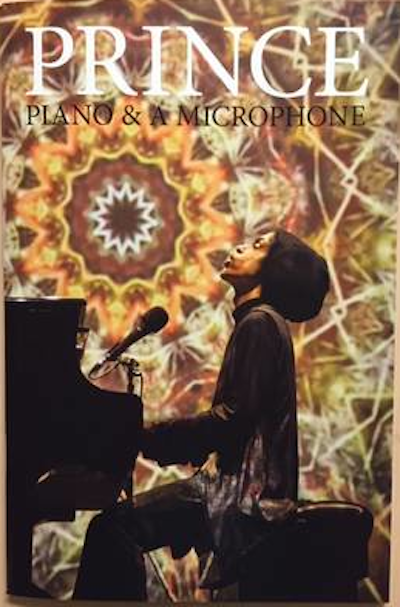 Prince Piano & A Microphone Tour Book