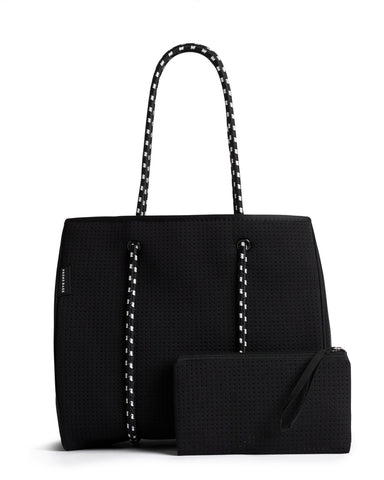 The X Bag (CHARCOAL) Neoprene Tote Bag