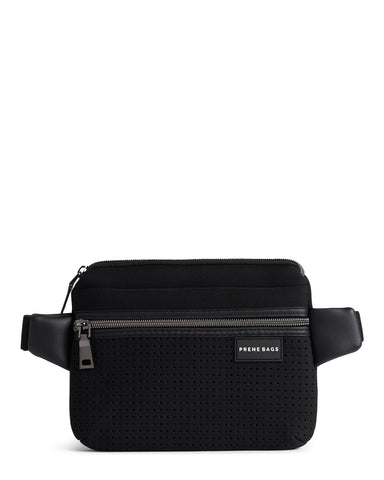 The Pixie Bag (BLACK) Neoprene Crossbody Bag