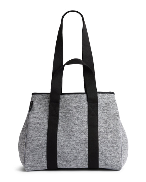 The Gigi Bag (LIGHT GREY MARLE) Neoprene Tote Bag
