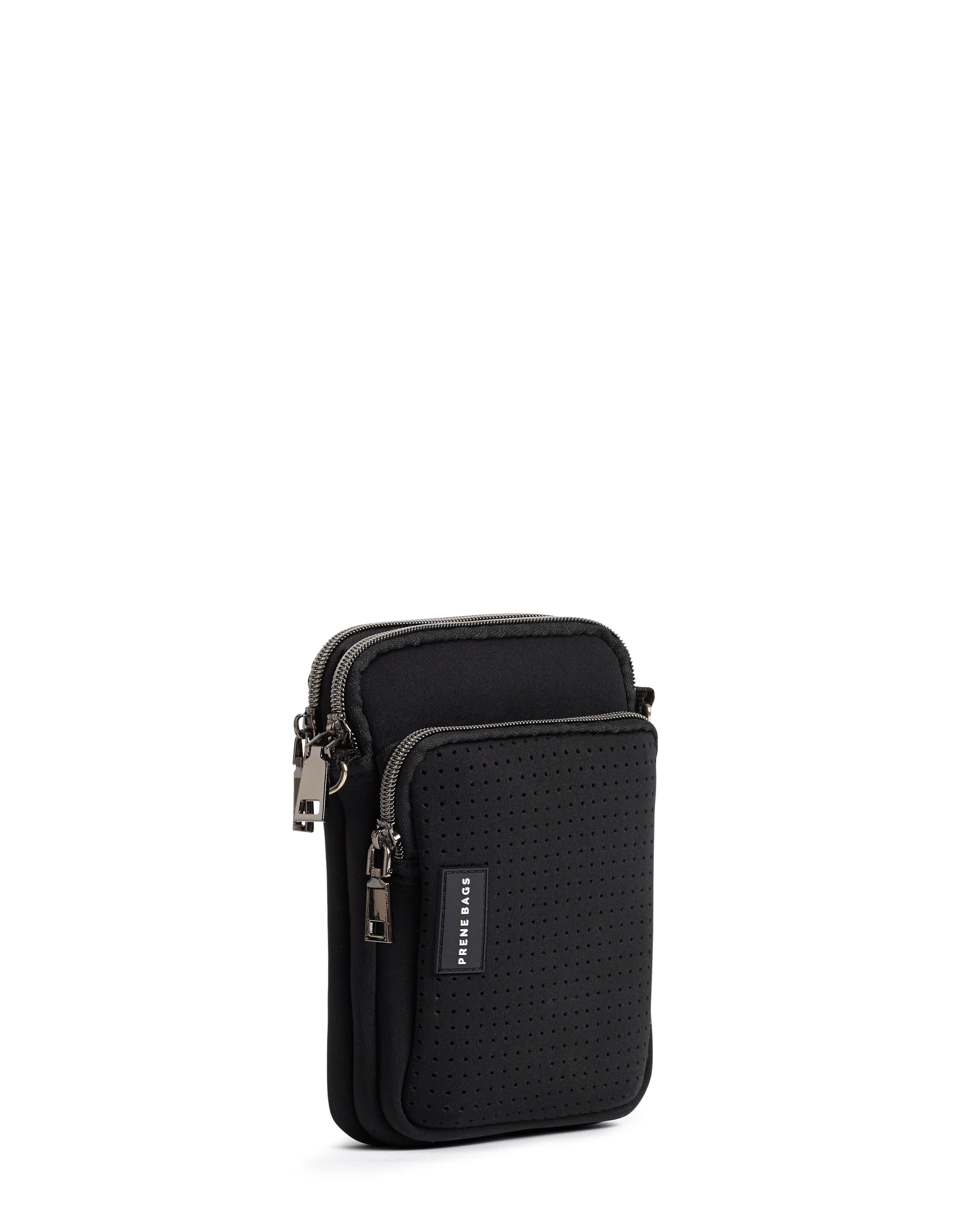 The Mimi Bag (BLACK) Neoprene Crossbody Bag
