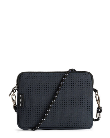 The XS Bag (LIGHT GREY MARLE) Neoprene Crossbody / Hand Bag