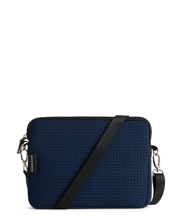 The Pixie Bag (NAVY BLUE) Neoprene Crossbody Bag