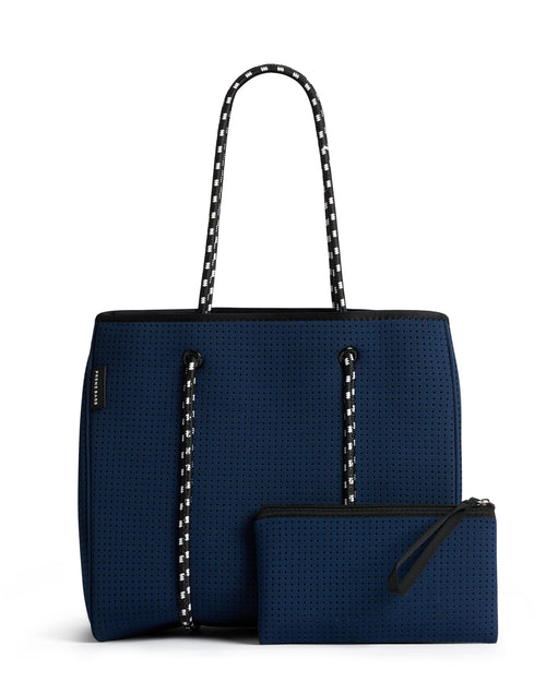The Sorrento Bag (NAVY BLUE) Neoprene Tote Bag