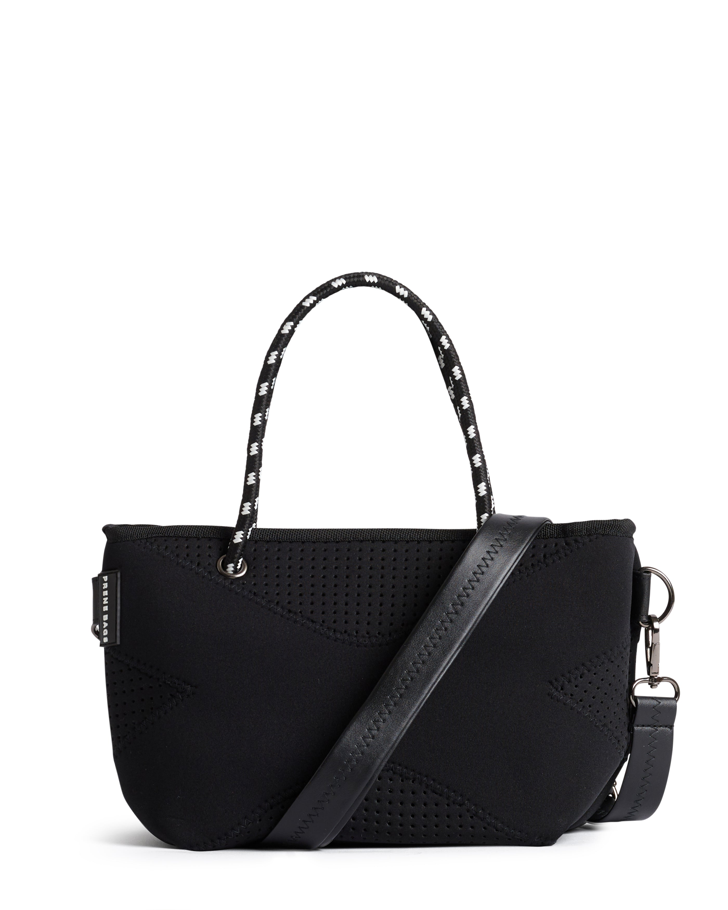 The XXS Bag (BLACK) Neoprene Crossbody / Hand Bag