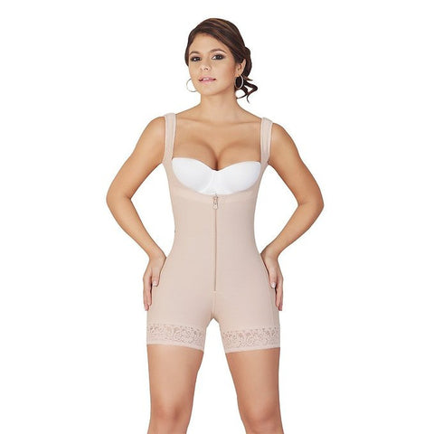Salome Butt Lifter Thigh Slimmer Braless Bodysuit
