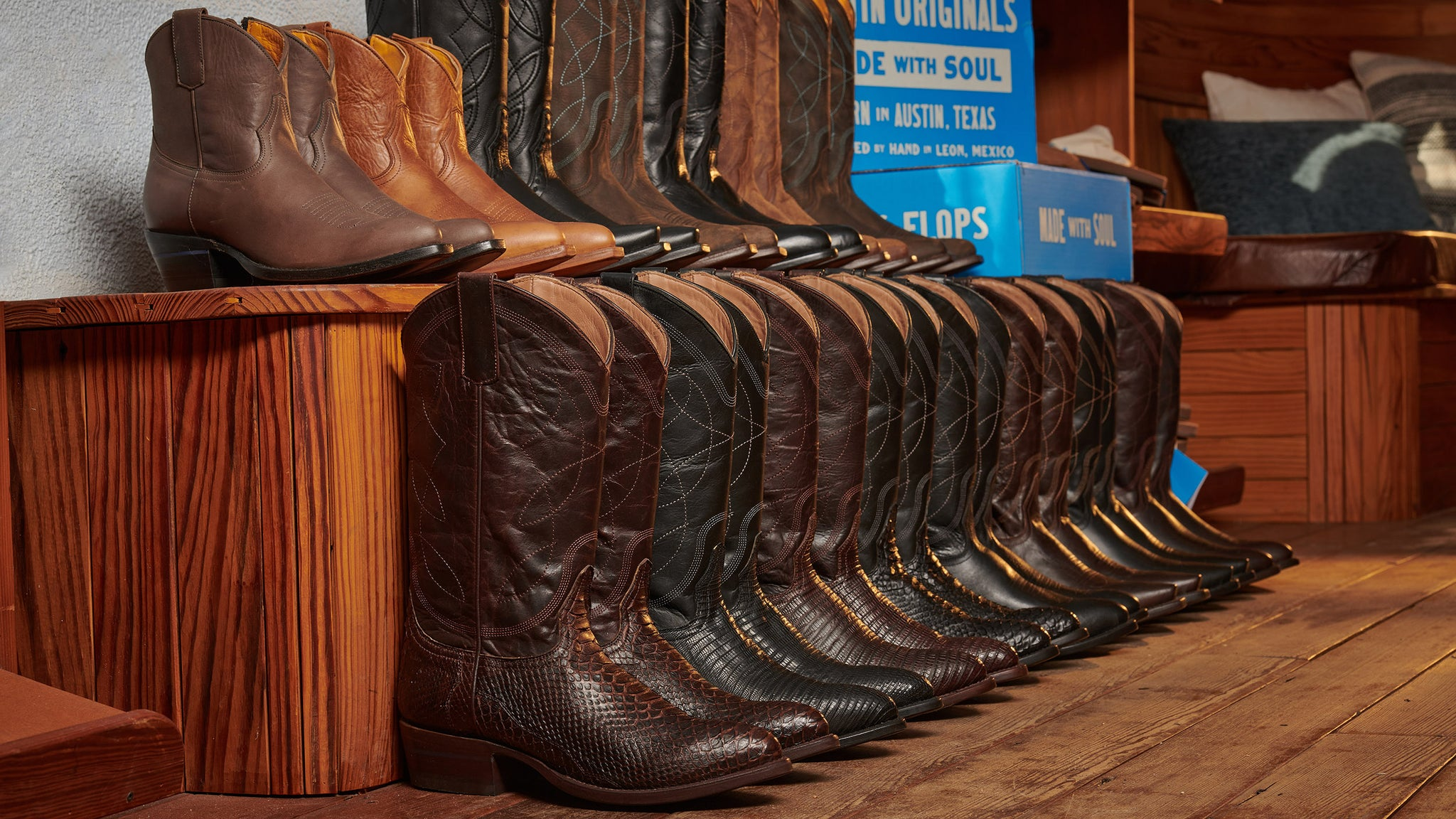 Cowboy boot leather types: How they stack up and which is right for you