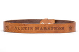 2019 Austin Marathon Leather Belts