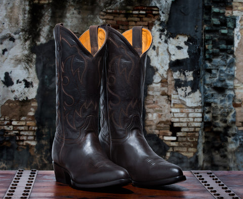 Rickshaw Men's <br>Original Dark Brown Boots