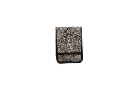 Gray Stingray Wallet with Money Clip