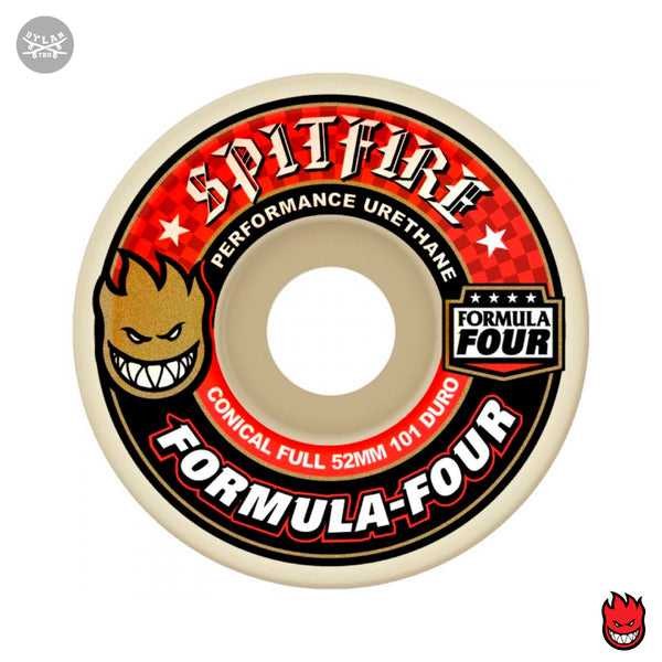 Spitfire Formula Four Wheels Conical Full 101DU Natural