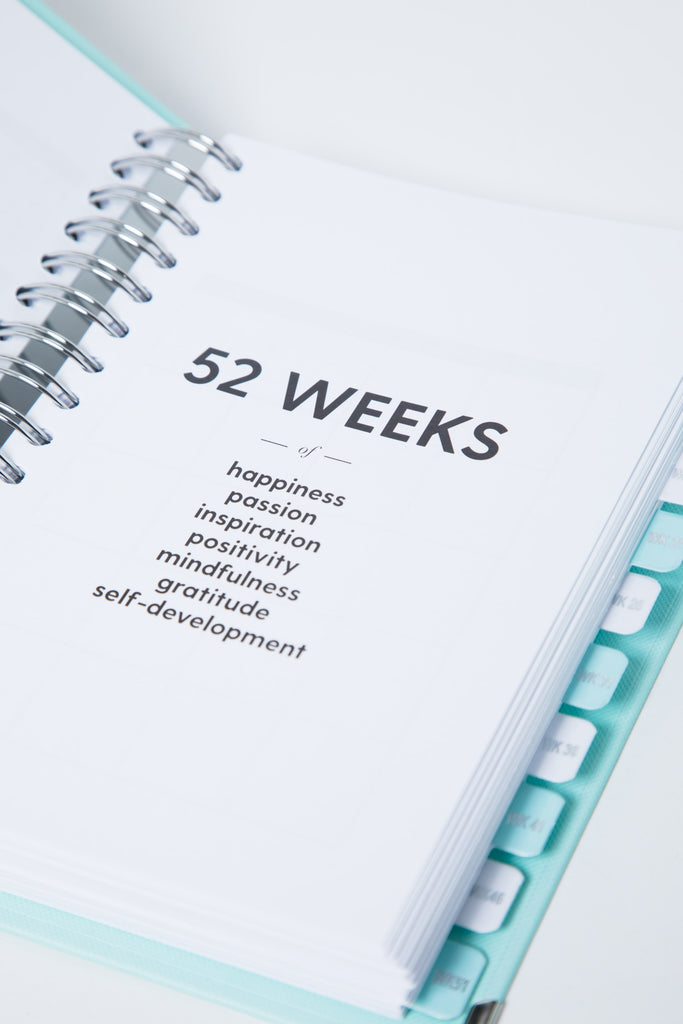 The 52-Week Happiness Planner® | Undated