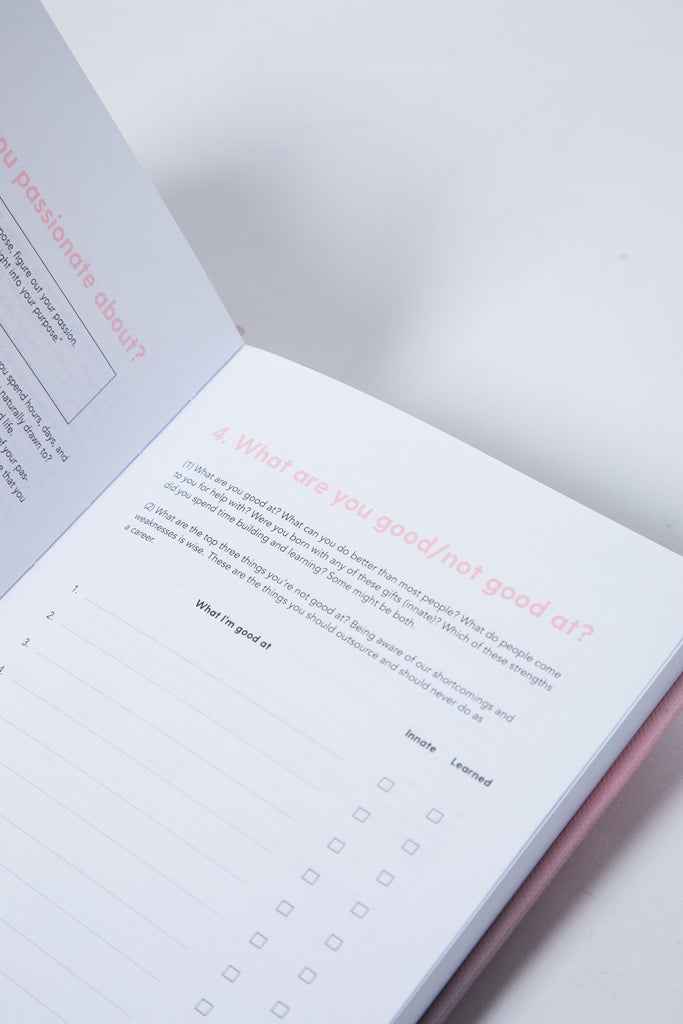 The 100-Day Planner | Pink & Charcoal