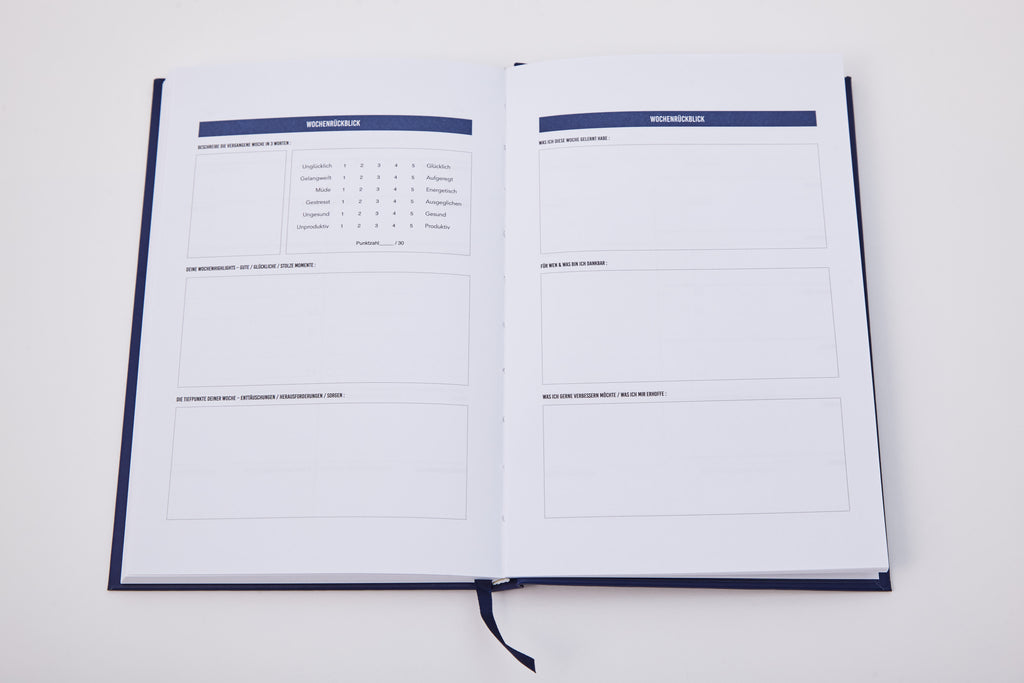 Der Tage Happiness Planner Undatiert  The Happiness PlannerEu
