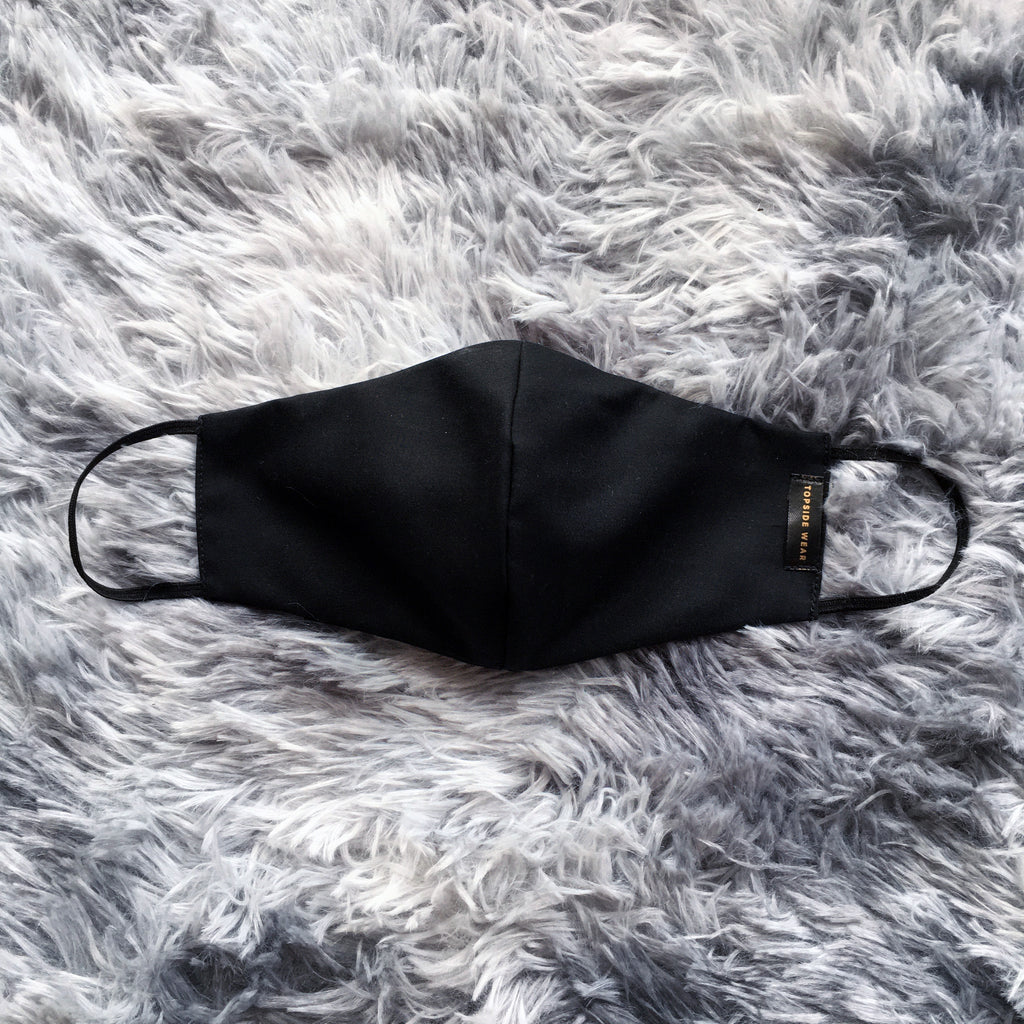 Nanofabric Black Mask