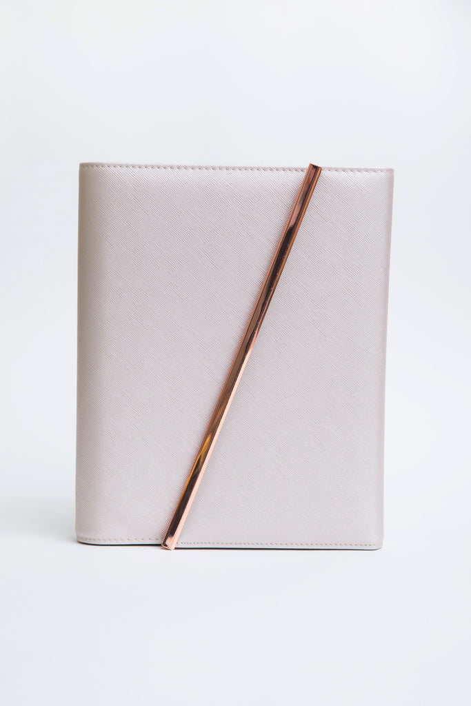 Leather Binder | Rose Gold | 372-Day Inserts