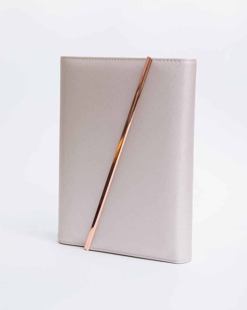 Leather Binder | Rose Gold | 2020